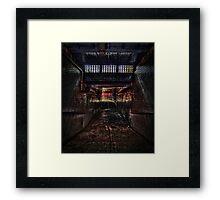 Baghill Station Subway. Pontefract Framed Print