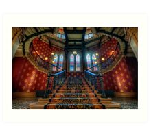 St. Pancras Renaissance London Hotel Art Print