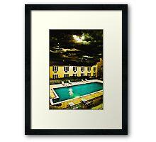 Paradise Motel Framed Print