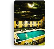Paradise Motel Canvas Print