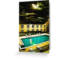 Paradise Motel Greeting Card
