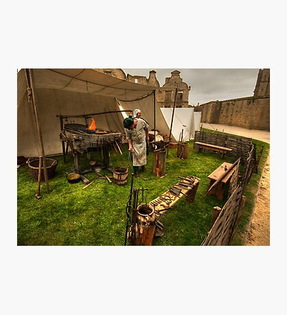 The Blacksmith Photographic Print