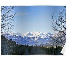 Mighty Views of the Canadian Rockies Poster