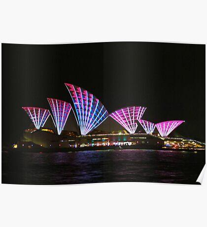 Vivid Sydney Opera House Poster