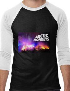 Arctic Monkeys (Alex Turner) in Concert Men's Baseball ¾ T-Shirt