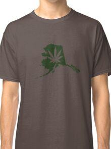 Alaska State Pot Leaf Classic T-Shirt