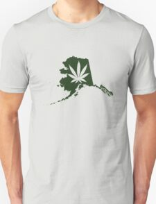 Alaska State Pot Leaf T-Shirt
