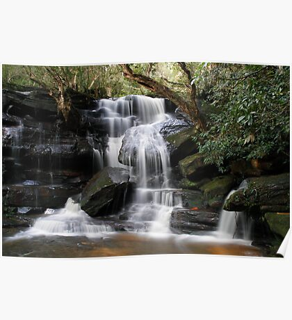 Lower Somersby Falls Poster