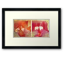 she's on her way.... Framed Print