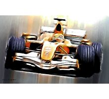 Formula One Photographic Print
