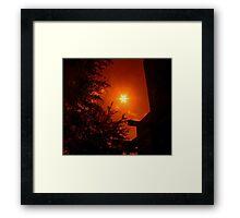 Dark Red Morning - Florida Framed Print