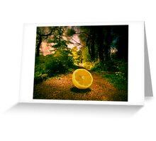 Lemon Entry Greeting Card