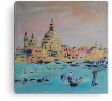 Venice dusk Canvas Print