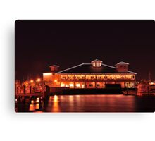 Laishley Crab House, As Is Canvas Print