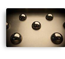 Metallic Sphere Canvas Print