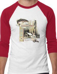 HOOKERS BAR AND GRILL Men's Baseball ¾ T-Shirt