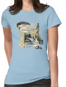 HOOKERS BAR AND GRILL Womens Fitted T-Shirt