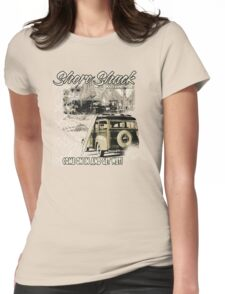 SHORE SHACK Womens Fitted T-Shirt