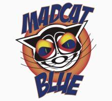 Mad Cat Blue by AlanBennington