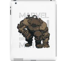 JUGGERNAUT 00 iPad Case/Skin