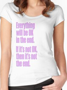 EVERYTHING PINK Women's Fitted Scoop T-Shirt