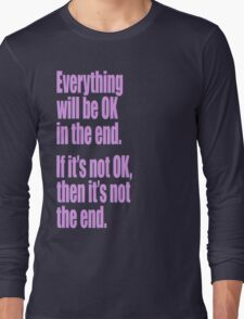 EVERYTHING PINK Long Sleeve T-Shirt
