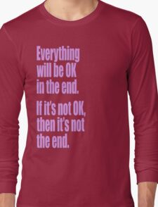 EVERYTHING PINK Long Sleeve T-Shirt