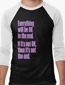 EVERYTHING PINK Men's Baseball ¾ T-Shirt