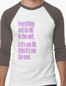 EVERYTHING PINK Men's Baseball ¾ T-Shirt