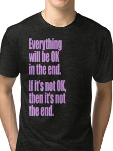 EVERYTHING PINK Tri-blend T-Shirt