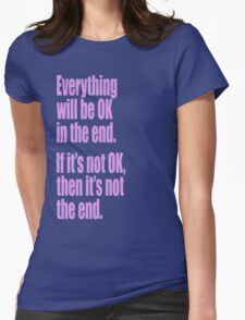 EVERYTHING PINK Womens Fitted T-Shirt