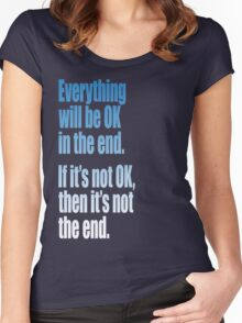 EVERYTHING  BLUE Women's Fitted Scoop T-Shirt