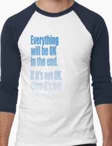 EVERYTHING  BLUE Men's Baseball ¾ T-Shirt