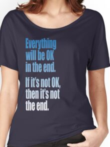EVERYTHING  BLUE Women's Relaxed Fit T-Shirt