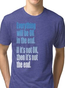 EVERYTHING  BLUE Tri-blend T-Shirt