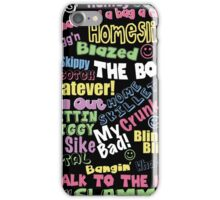 90s Slang iPhone Case/Skin
