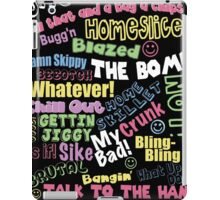 90s Slang iPad Case/Skin
