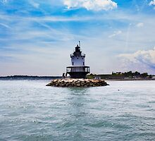 Lighthouse in the noon by zyro812