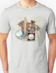 BOARD ROOM MOTEL Unisex T-Shirt