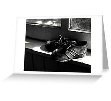 Cobwebs and Shoelaces Greeting Card