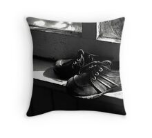 Cobwebs and Shoelaces Throw Pillow