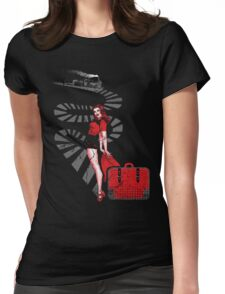 RED SIGNAL Womens Fitted T-Shirt