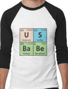 Periodic Table - US Babe Men's Baseball ¾ T-Shirt