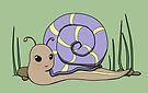 Cute snail by Tunnelfrog