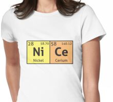 Periodic Table - Nice Womens Fitted T-Shirt