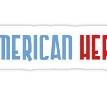 American Hero Sticker