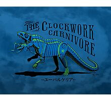 Clockwork Carnivore (Blue EUPARKERIA-TYPE) Photographic Print
