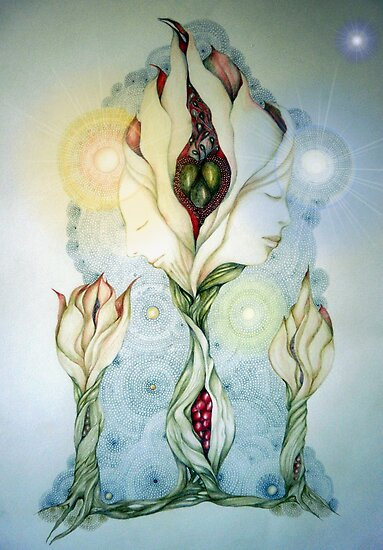 Yin and Yang by Helena Wilsen - Saunders