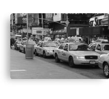 NYC Cabs Canvas Print