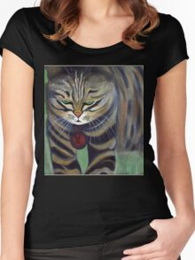His Lordship Monty.. Women's Fitted Scoop T-Shirt